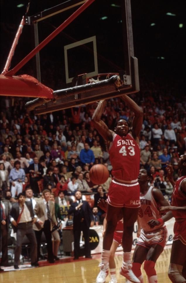 'The dunk heard round the world'{Source: NY Daily News}