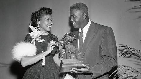 Mr. & Mrs. Jackie Robinson {Source: Google Images}