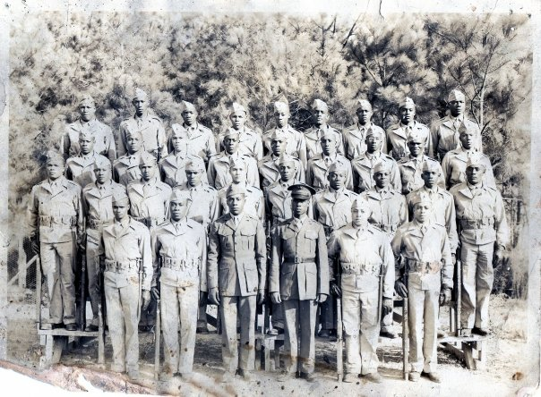History. Montford Point Marines. My grandDaddy is on the last row, second from the left.